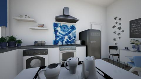 Kitchen_Nikki in London - Kitchen - by MilaMao