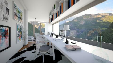 workpeace - Modern - Office - by lamzoi