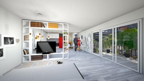 Apartment Redecoration  - Modern - Living room - by Klindi Klind