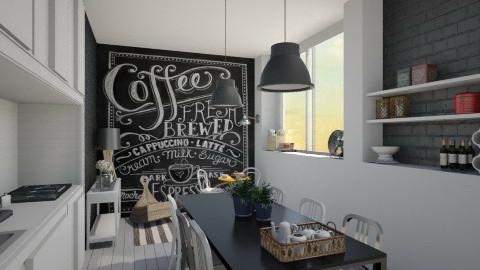 Night Day Kitchen - Modern - by Maria Esteves de Oliveira