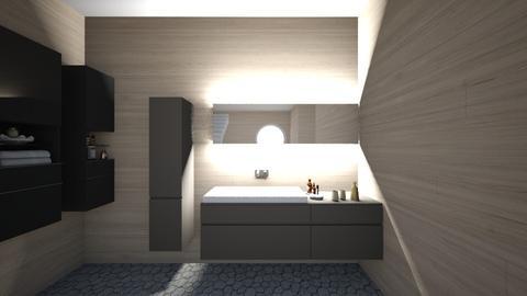 Tranquility - Minimal - Bathroom - by polinasy