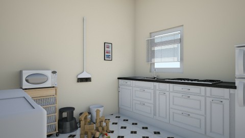 Small Kitchen - Vintage - Kitchen - by love Tully love