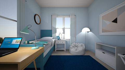 LT bedroom - Bedroom - by Linde Hubbard
