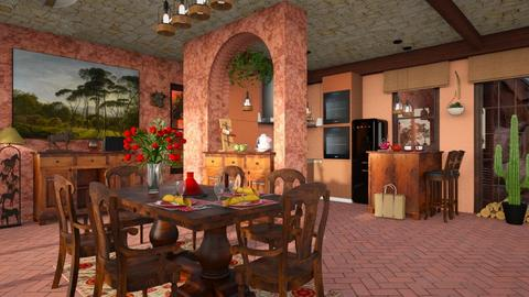 Grand Canyon S_Kitchen and Dining - by ZsuzsannaCs