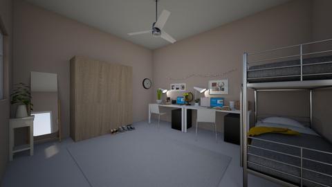 My Dormroom - Minimal - Bedroom - by Tiana2315