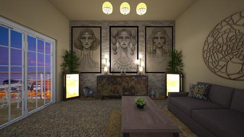 urban - Living room - by Kylie Awa