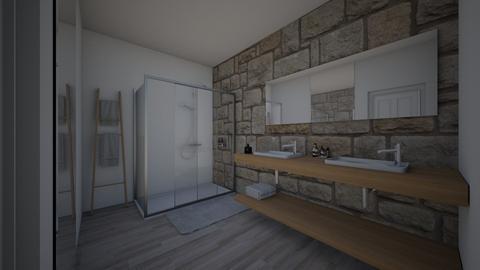 summer shower - Bathroom - by oriane dfn