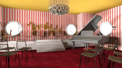Music Theater Room - Classic - by kittyxo338