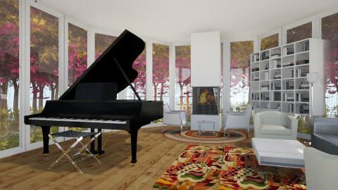 NATURAL LIVING ROOM - by danielarias100