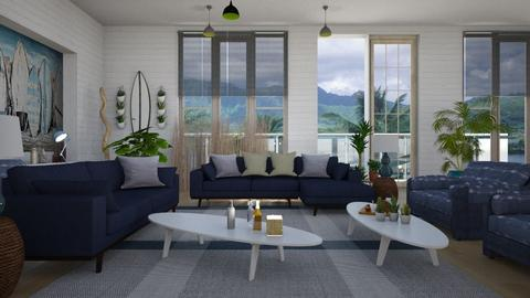 SLiving - Living room - by ZuzanaDesign