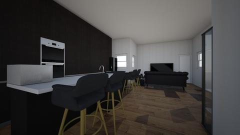 two story 3 bedroom - Minimal - by leslie brooks