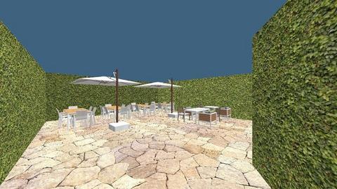 Bastille terras - Garden - by Joyce de Haas