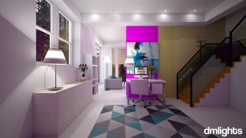 home art office - Modern - Office - by DMLights-user-982918