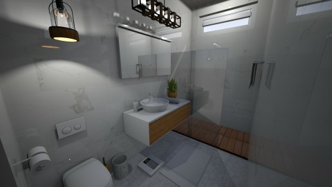Zen Bathroom - by Faye Dela Cruz