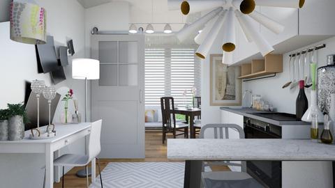Paul_1 - Modern - Kitchen - by XiraFizade
