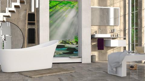 M_ Fountains leeg - Bathroom - by milyca8