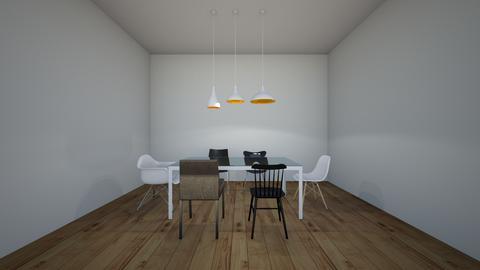 cuarto cuadro - Dining room - by EYSB