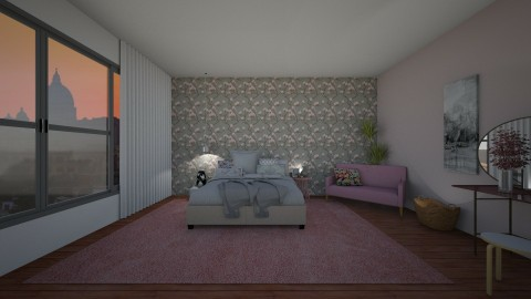 FloralDream - Feminine - Bedroom - by tena9