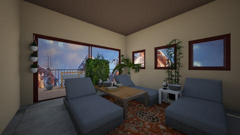 Modern Triclinium - Dining room - by bird lover