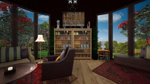 Vintage Home Library  - Vintage - by timeandplace