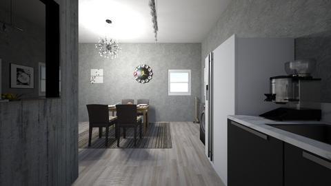 Apartament - Kitchen - by mladenowa21