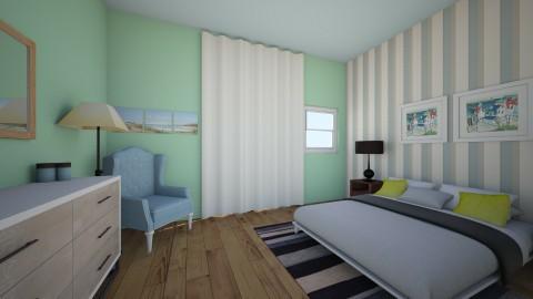 Coastal  - Bedroom - by ahamm42