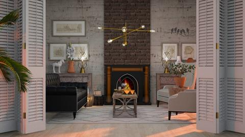 Formal - Living room - by Just Bee