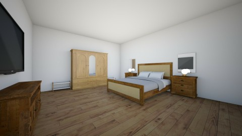bedroom - Bedroom - by NeshelleNewburn