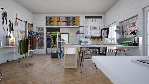 Sewing Room - by lincolor