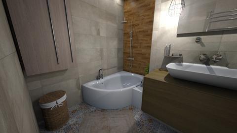 cseresznye kad marokkos - Bathroom - by Bambi22