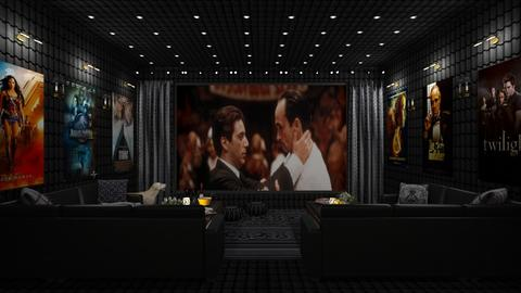 Design 383 Home Cinema - by Daisy320