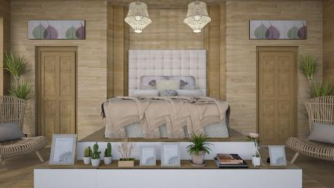 Tan Bed - Country - Bedroom - by millerfam