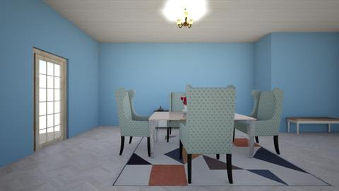 777 - Eclectic - Dining room - by  o
