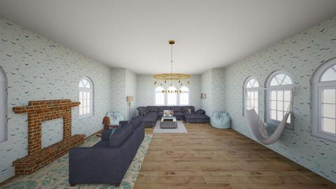 Christmas Living Room  - Modern - Living room - by Florinda