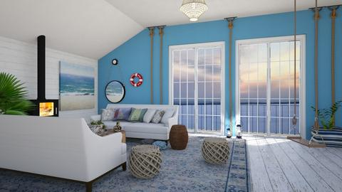 Boathouse - Living room - by lovedsign