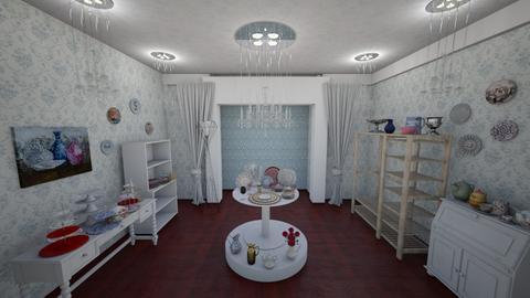 tableware exhibitions  - Dining room - by Evgeniya Levchenko