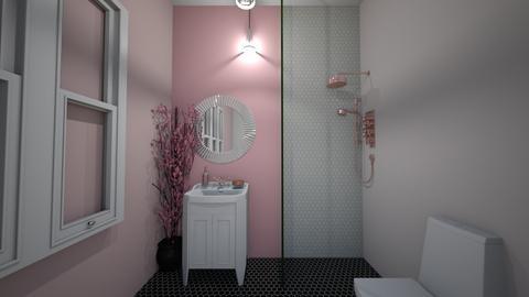 bathroom - Modern - Bathroom - by dianamron