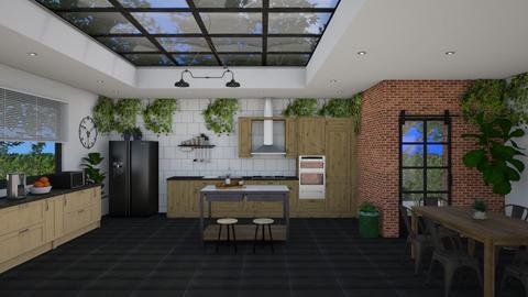 IP Artisan Kitchen - Kitchen - by Nan92
