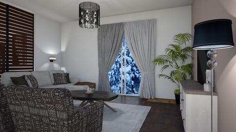 opn2 - Living room - by Delila1