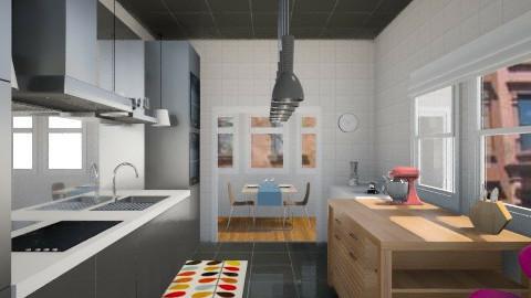 gally kitchen - Kitchen - by sfcarter54