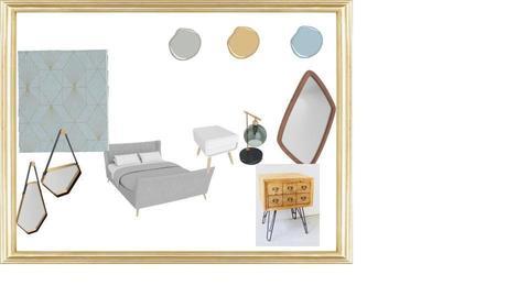 Elinor Bedroom  - by Netalie Treistman Ben Zaken