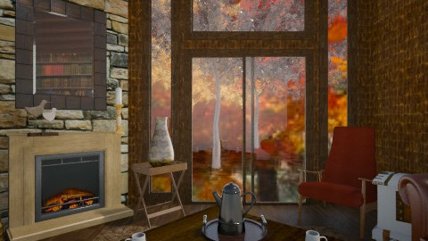 September  - Living room - by whodat1910
