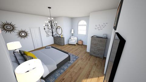 Bedroom Design  - Bedroom - by mkduff