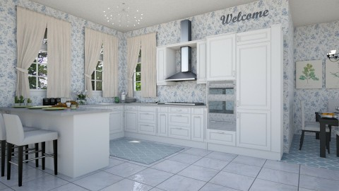 Kitchen for 5 - Modern - Kitchen - by hollyhough549