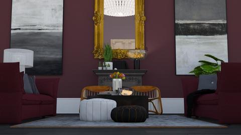 Purple chic - Modern - Living room - by HenkRetro1960