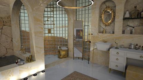 Yellow Bath - Modern - Bathroom - by mmehling