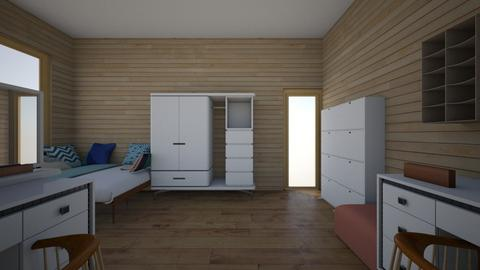 Yana Denisiuk - Modern - Bedroom - by Yana Denisiuk