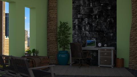 Urban Jungle - Office - by BenCam13