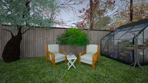 Back Yard - Garden - by ruralakay