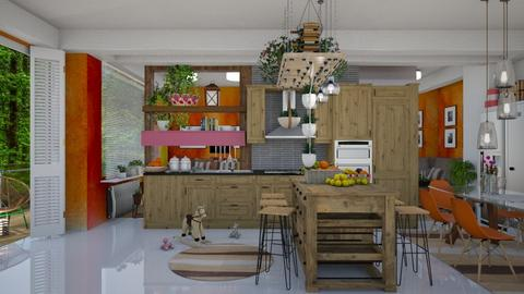 my kitchen  - Eclectic - Kitchen - by Ida Dzanovic